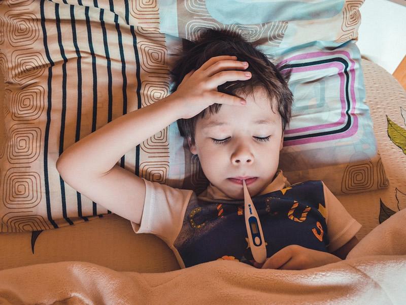 Norice in vročina pri otrocih